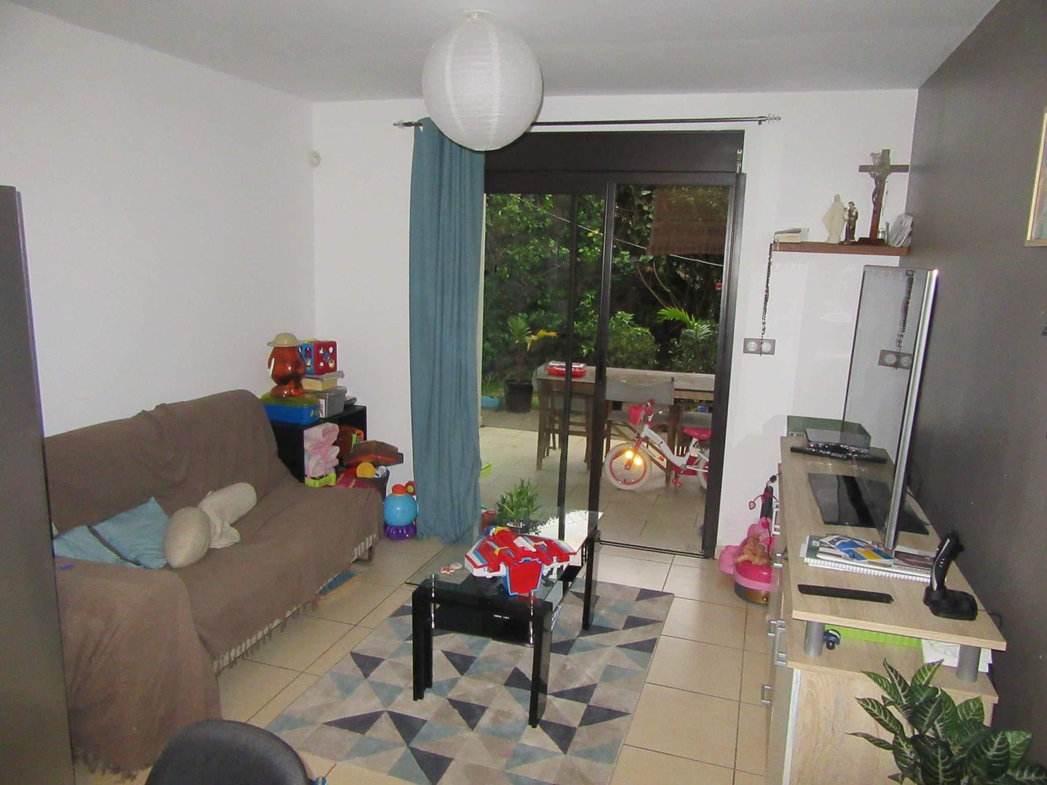 Appartement 3 pièces avec jardin
